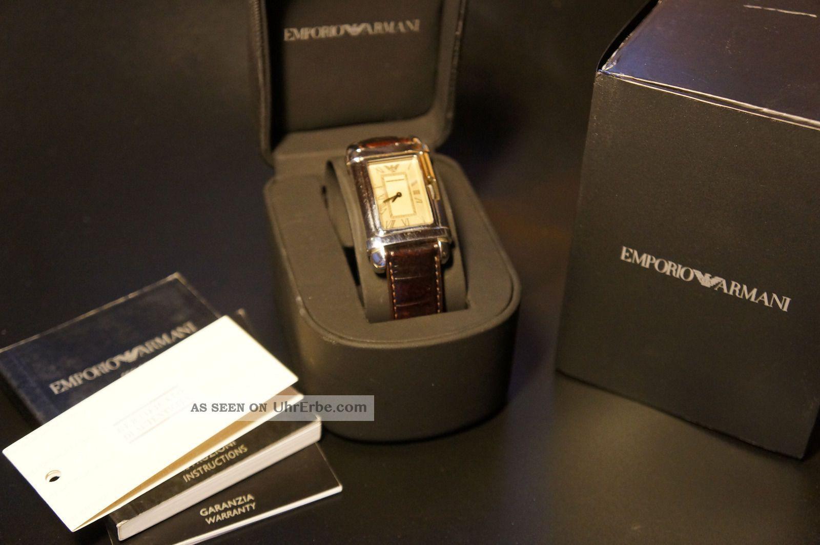 Emporio Armani Herren Armbanduhr (ovp) Armbanduhren Bild