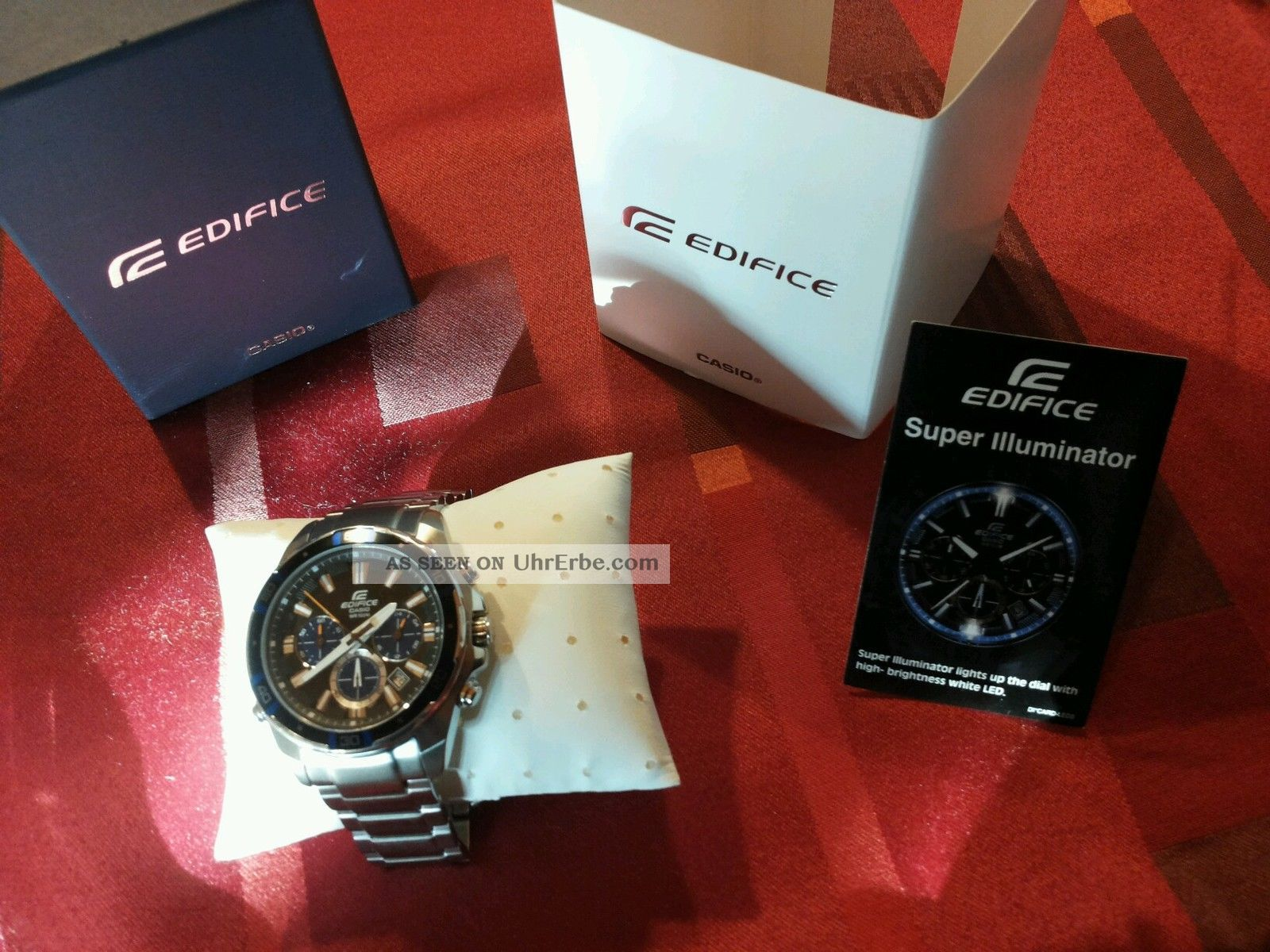 Casio Edifice Ef - 534d - 1avef Armbanduhr Für Herren Armbanduhren Bild