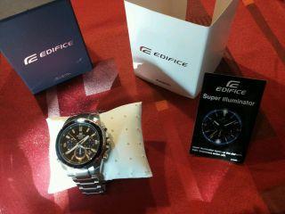 Casio Edifice Ef - 534d - 1avef Armbanduhr Für Herren Bild