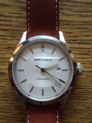 Armbanduhr Marc & Sons,  Eta - 2824 - 2,  Swiss Made,  Automatik,  Neuwertig,  Ovp Bild