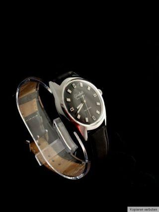 Gub/glashütte Spezimatic Uhr Automatik Hau Armband Ddr Spezichron & Umf Bild