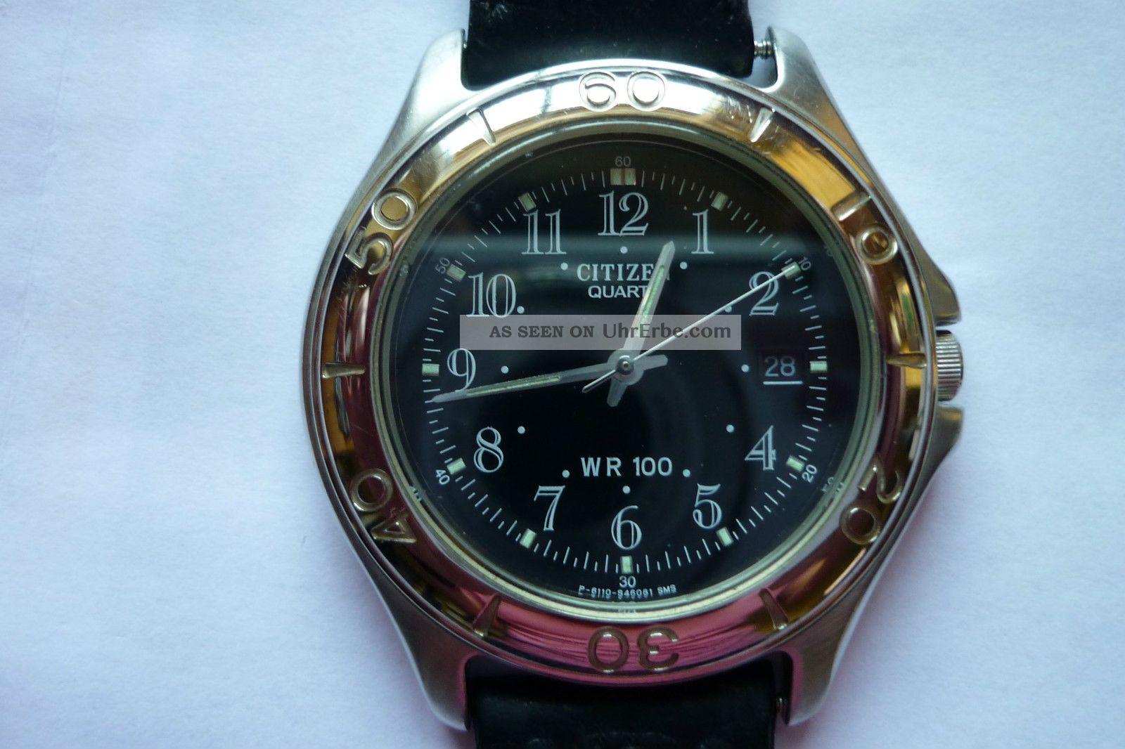 Citizen Herrenarmbanduhr Wr 100 Armbanduhren Bild
