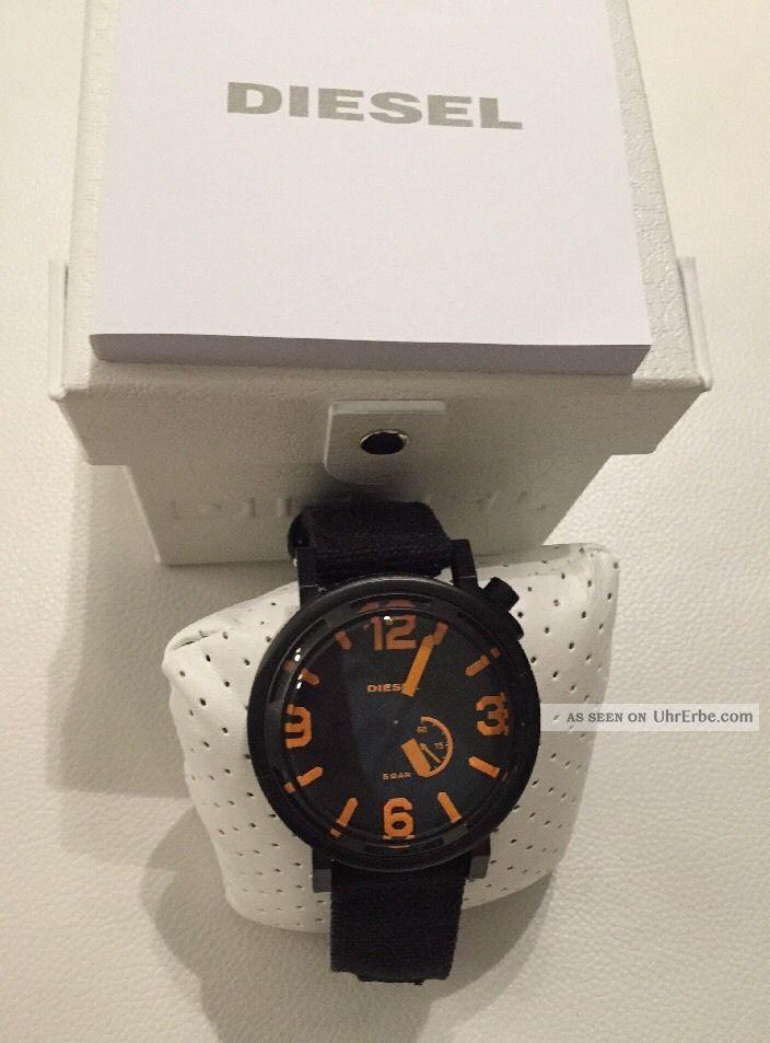 Diesel Herrenuhr Dz1471 Mit Etikett Und Ovp Np:179,  00€ Armbanduhren Bild