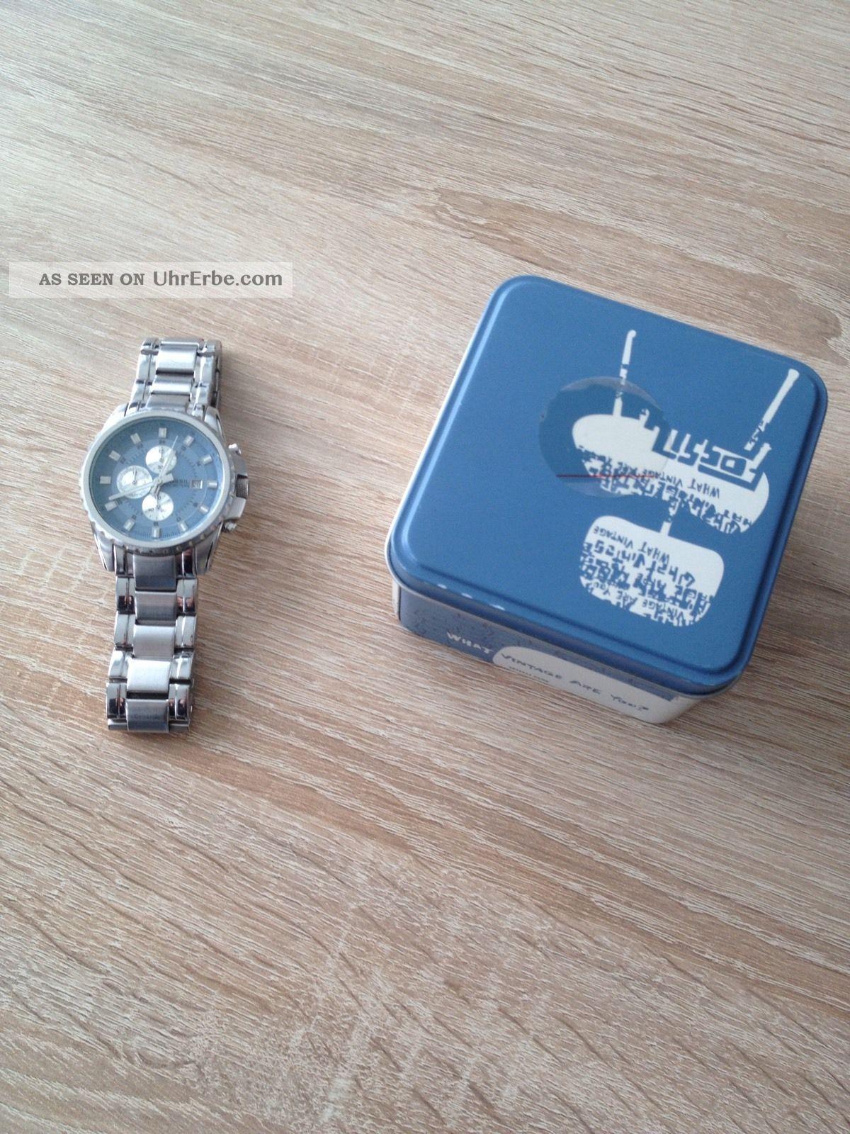 Fossil Herrenuhr / Neuwertig / Edle Optik Armbanduhren Bild