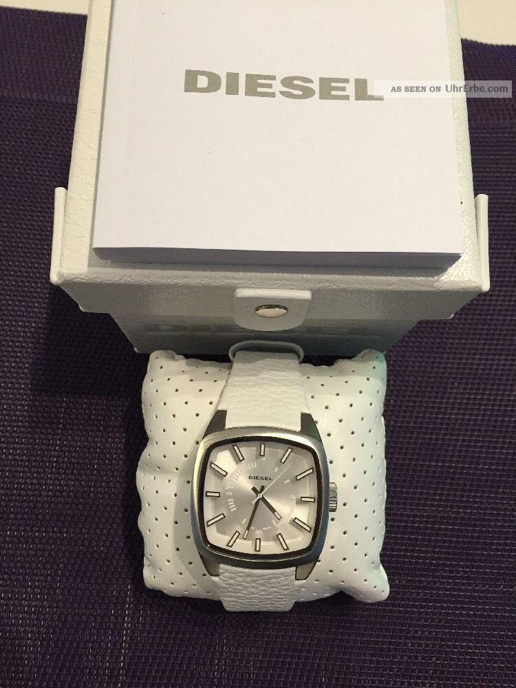 Diesel Herrenuhr Dz1531 Quartz,  Analog Mit Ovp,  2 Jahre Np:149,  00€ Armbanduhren Bild