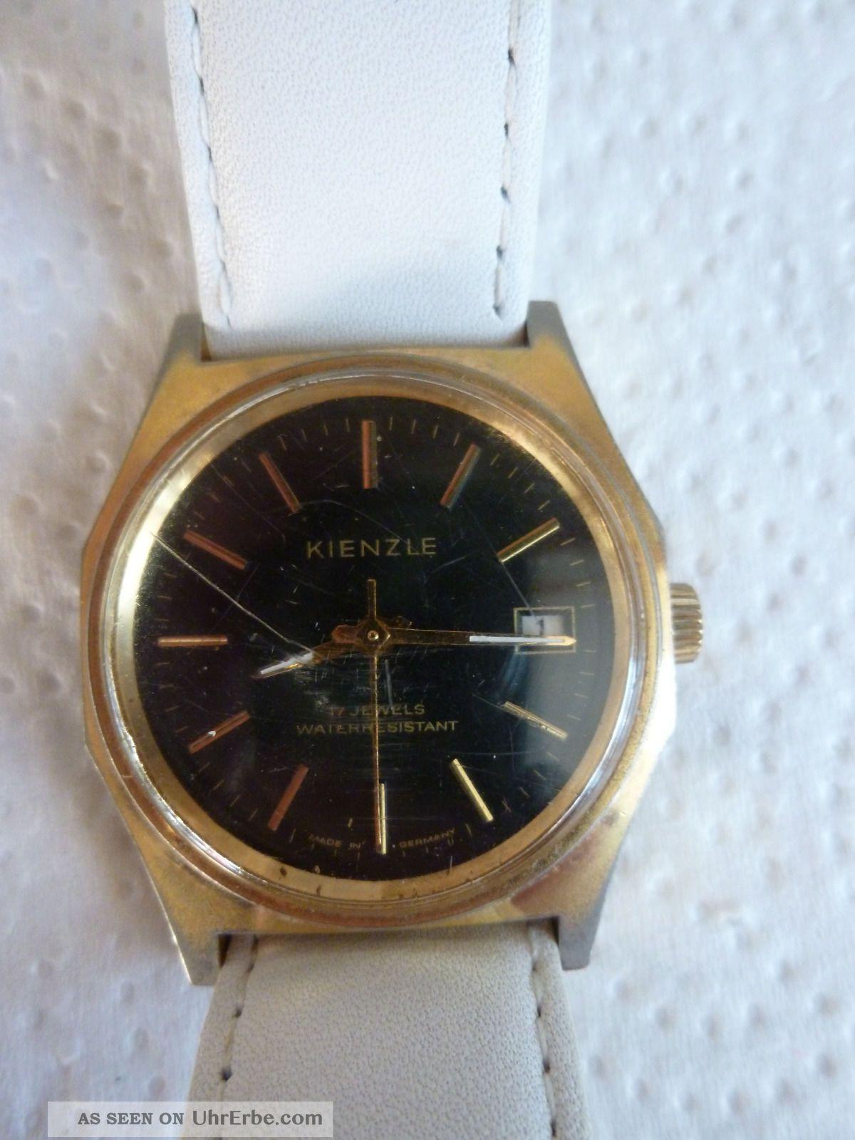 Armbanduhr Aus Papas Sammlung Nr.  26 Kienzle 17 Jewels Mindes 12 Std. Armbanduhren Bild