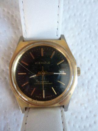 Armbanduhr Aus Papas Sammlung Nr.  26 Kienzle 17 Jewels Mindes 12 Std. Bild