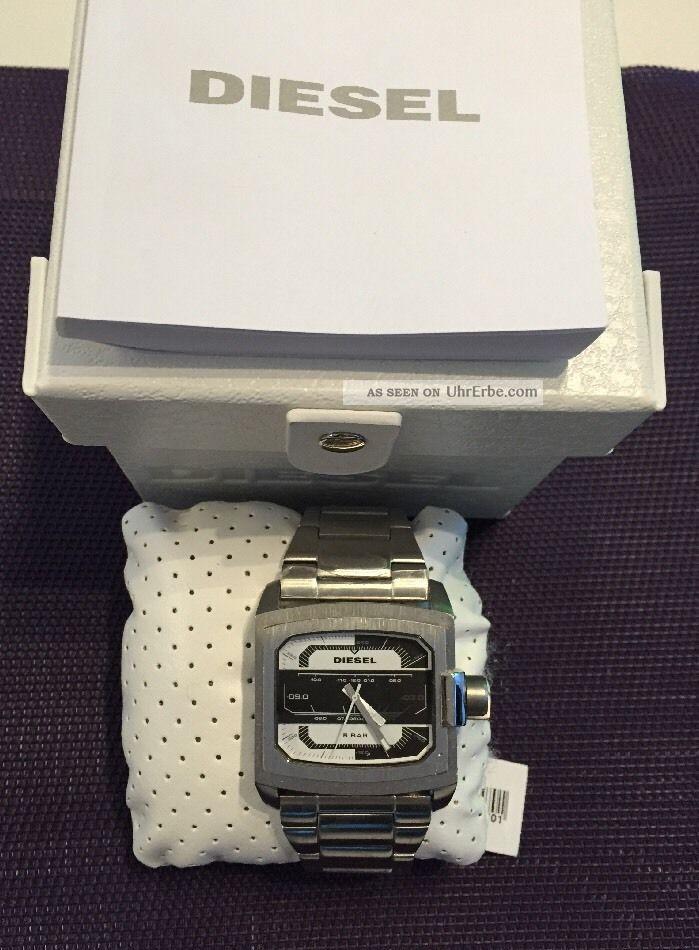 Diesel Herrenuhr Dz1465 Analoguhr Mit Etikett Und Ovp Np:169,  00€ Armbanduhren Bild