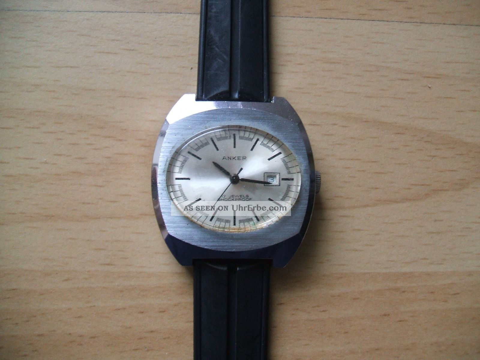Uhr Sammlung An Bastler Alte Anker Mechanisch - Handaufzug 17 Jewels Herrenuhr Armbanduhren Bild