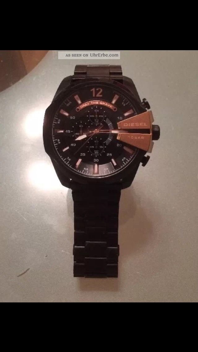 Diesel Herrenuhr,  Schwarz/bronze Armbanduhren Bild