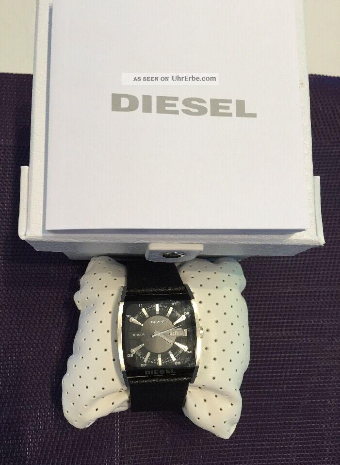 Diesel Herrenuhr Dz1294 Quarz Mit Etikett Und Ovp Np:129,  00€ Armbanduhren Bild