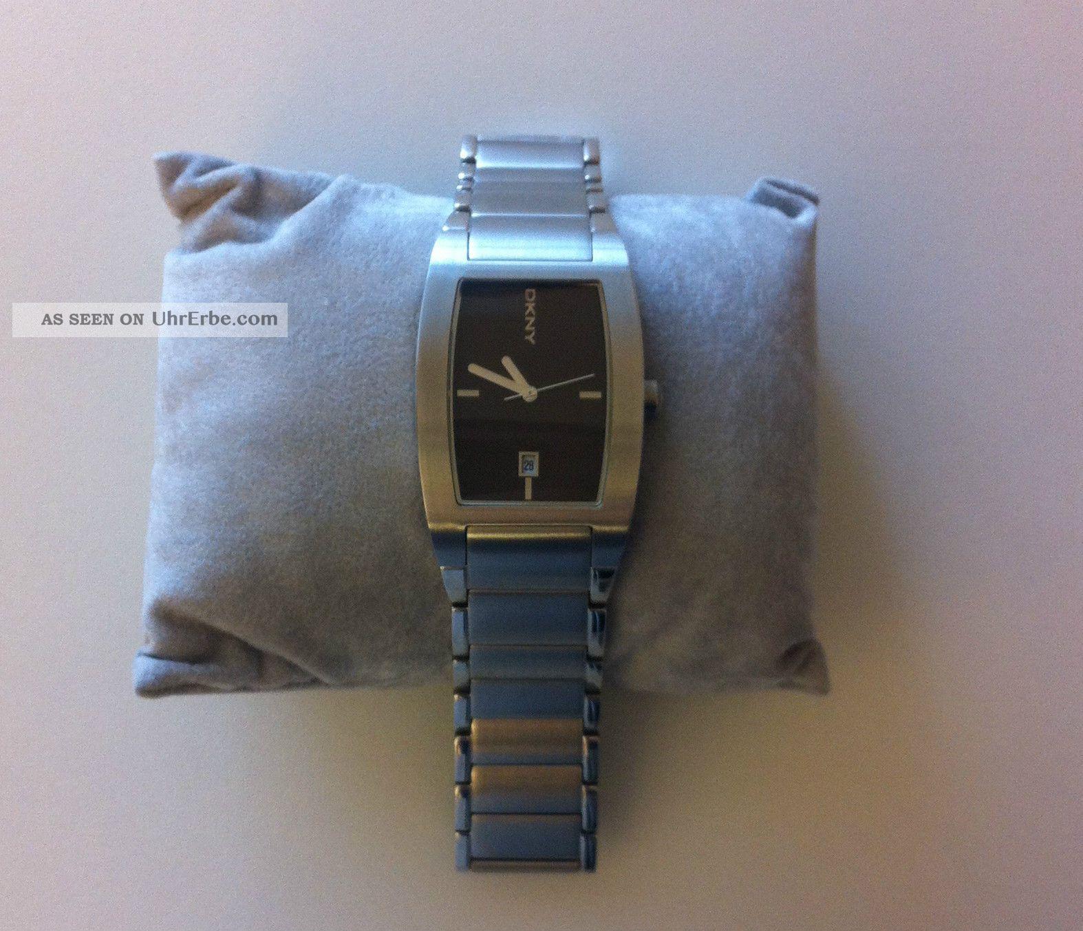 Dkny Time Herren - Armbanduhr Edelstahl Top Armbanduhren Bild