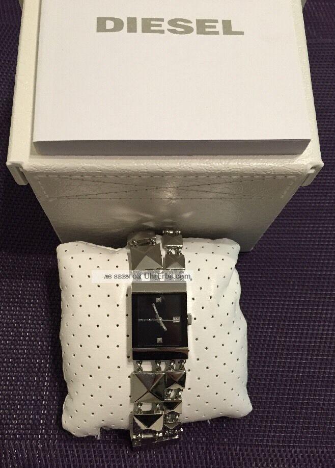 Diesel Damenuhr Dz5135 Quarz Mit Ovp Und 2 Jahren Np:149,  00€ Armbanduhren Bild