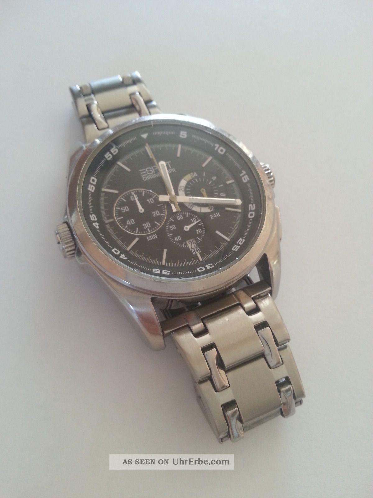 Esprit Chronograph Armbanduhr Herren Top Armbanduhren Bild