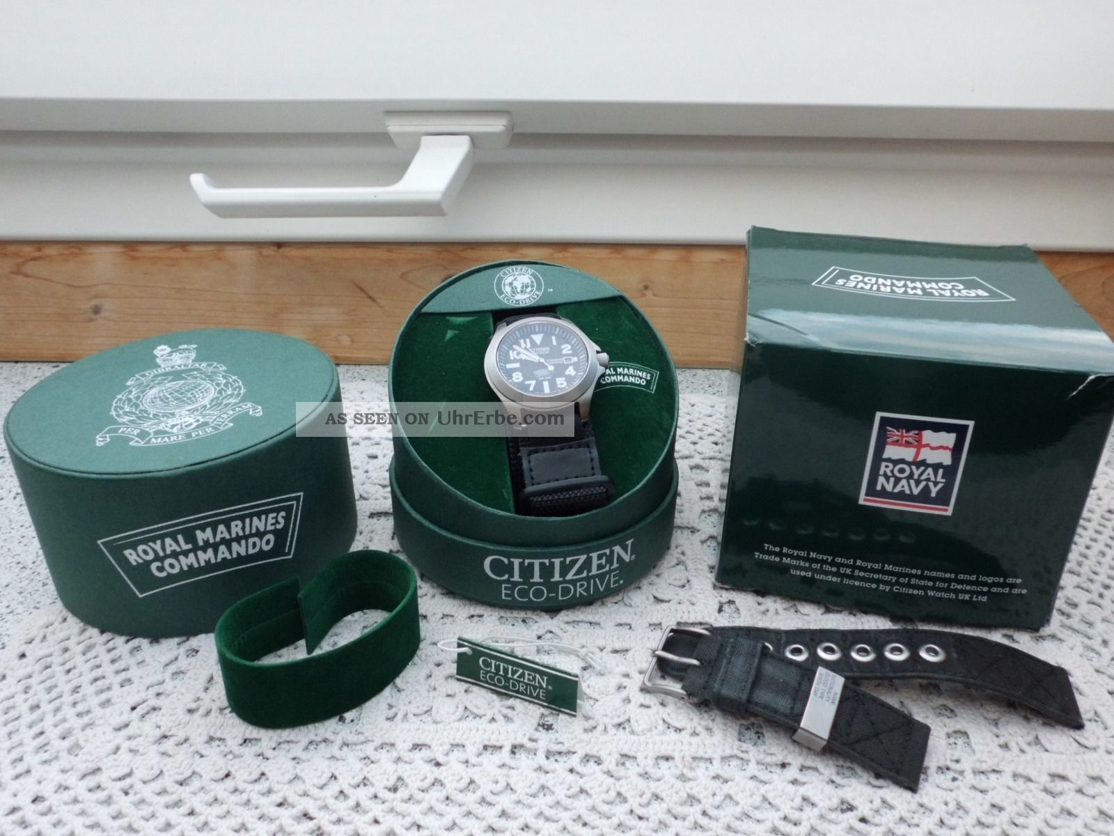 Citizen Bn0110 - 57e Tough Titanium Eco Drive Armbanduhren Bild
