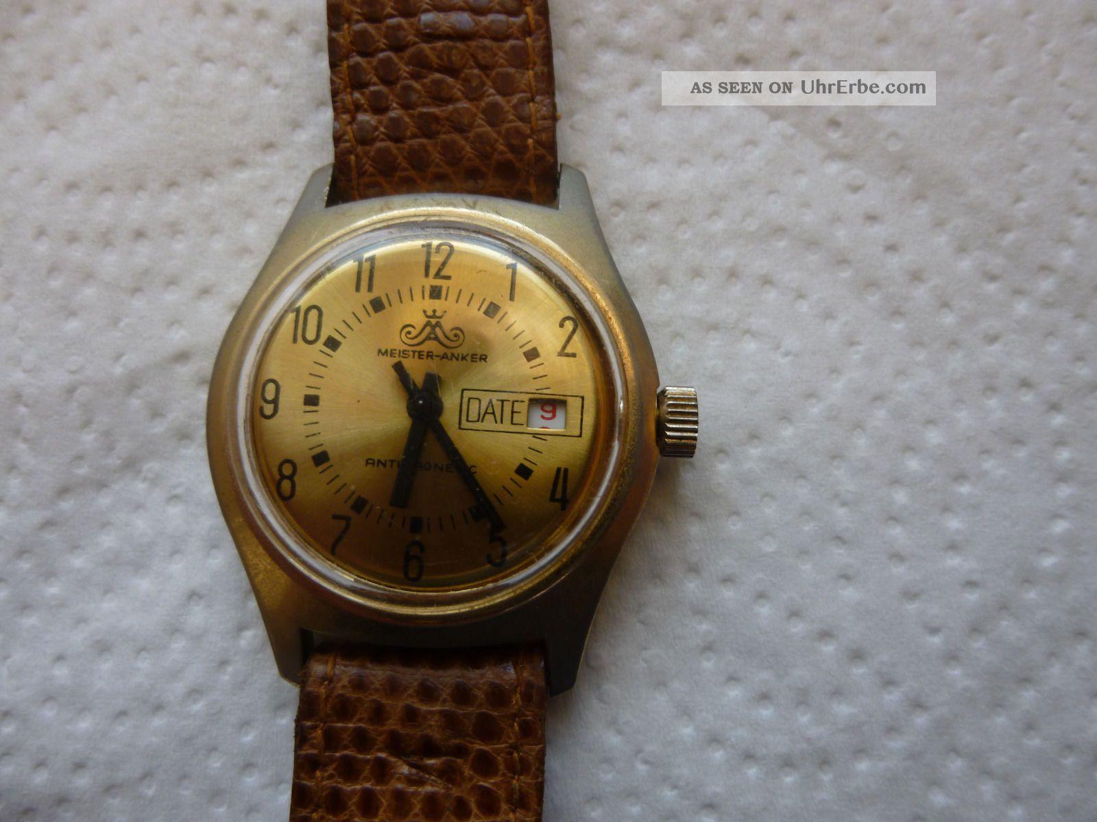 Armbanduhr Aus Papas Sammlung Nr.  24 Anker Mindes 12 Std. Armbanduhren Bild