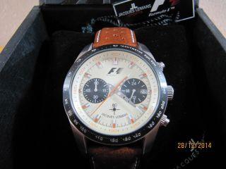 Jacques Lemans Formel 1 Retro 1970 5019 Herren Armbanduhr Uhr Selten Top Bild