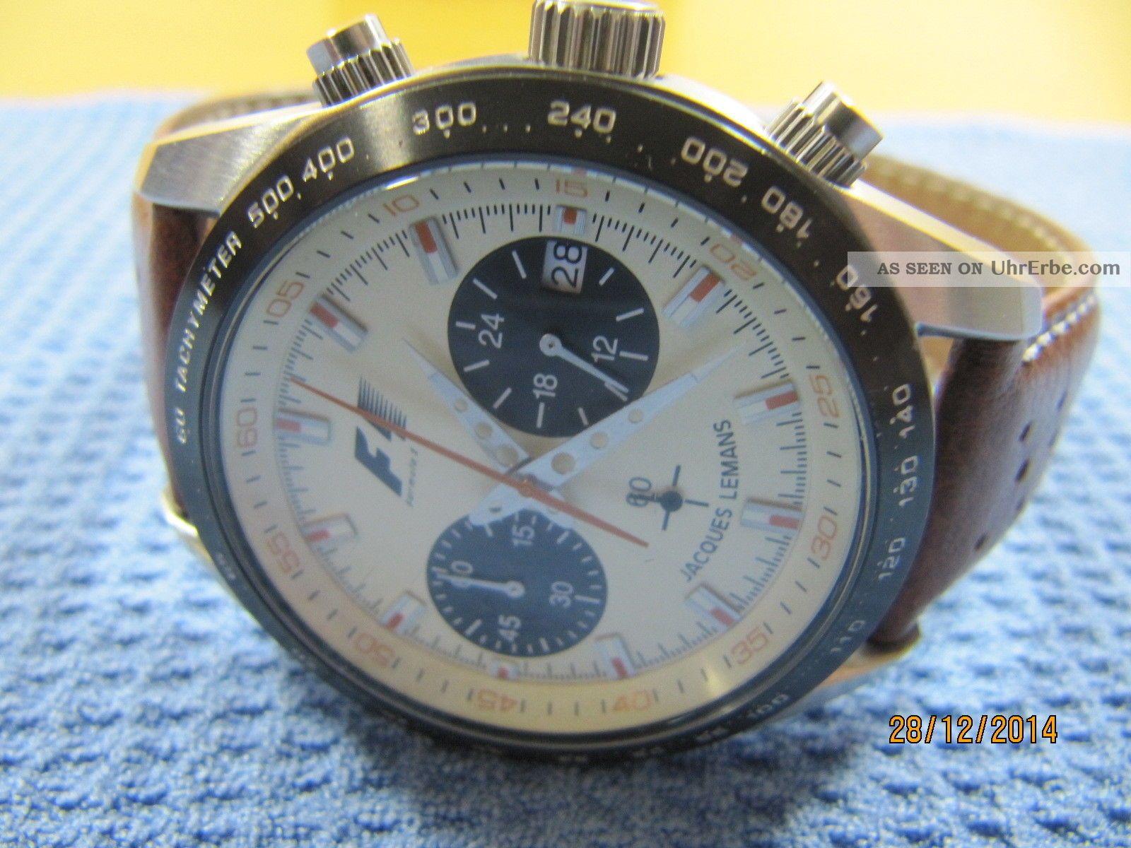 jacques lemans formel 1 retro 1970 5019 herren armbanduhr. Black Bedroom Furniture Sets. Home Design Ideas