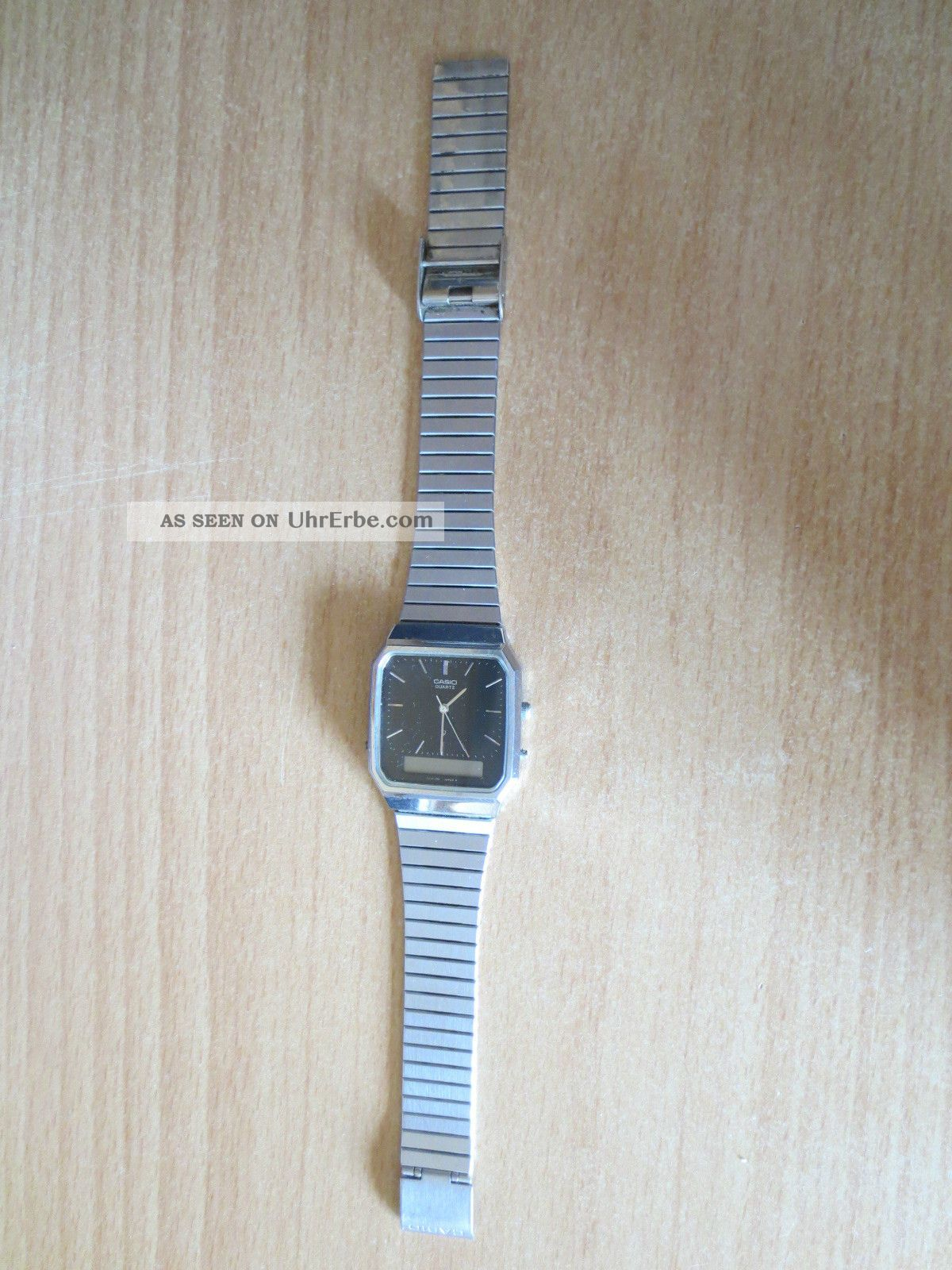 Casio Uhr / Aq - 414 Armbanduhren Bild