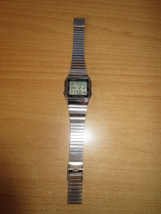 Casio Uhr / Vintage Casio World Time A300u Bild