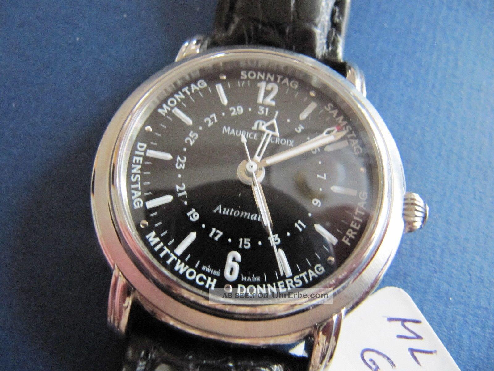 Maurice Lacroix Masterpiece Cinq Aiguilles - 5 Zeiger Uhr Automatic Armbanduhren Bild