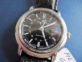 Maurice Lacroix Masterpiece Cinq Aiguilles - 5 Zeiger Uhr Automatic Bild