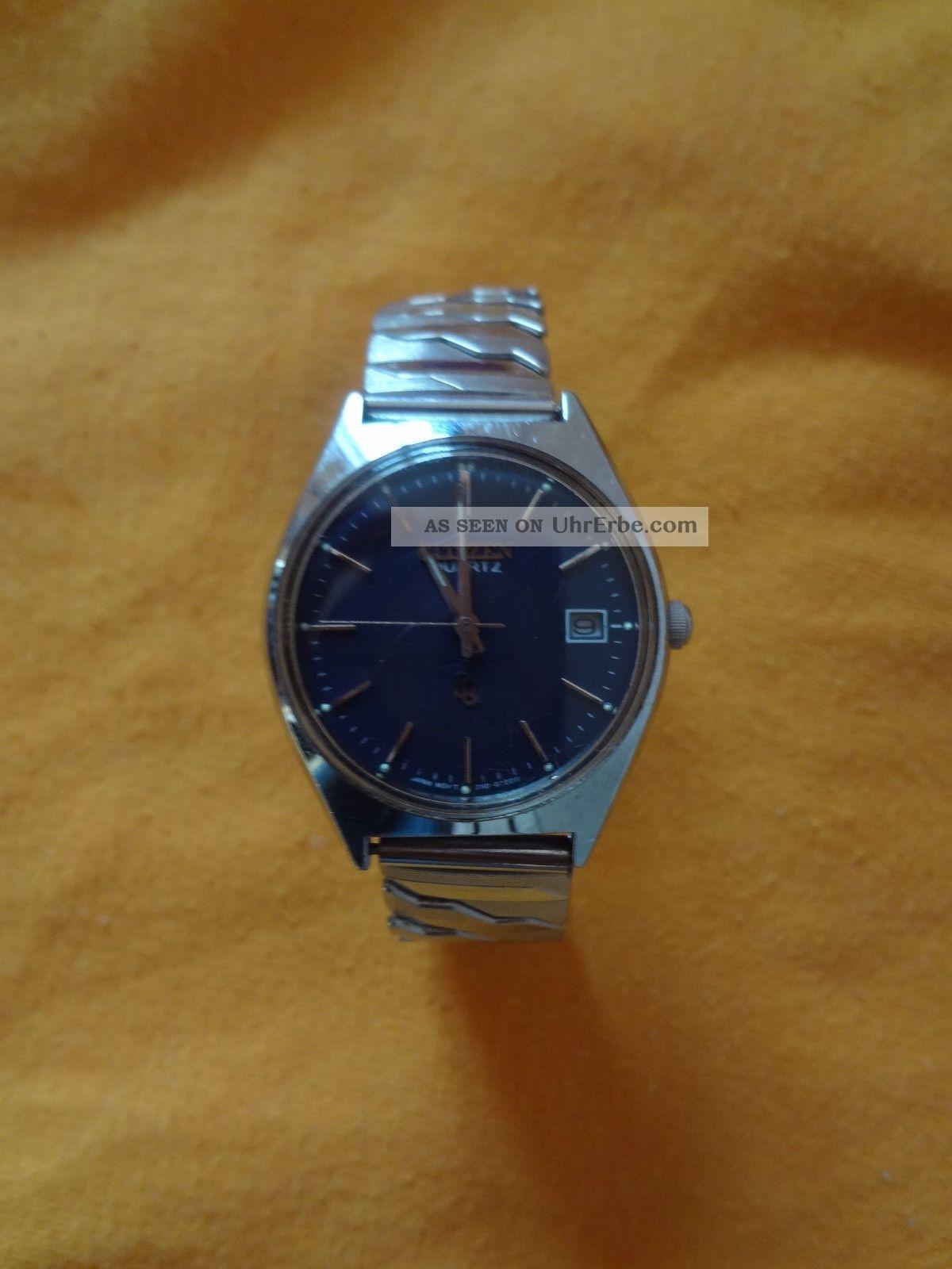 Armbanduhr Citizen Quartz Armbanduhren Bild