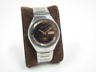 Citizen 71 - 2159 Automatic Armbanduhr - Wochentage Werden Auch In Arabisch Angez. Bild