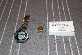 Casio Sgw - 300h 3202 Alti Barometer Thermometer Herren Armbanduhr Uhr Bild