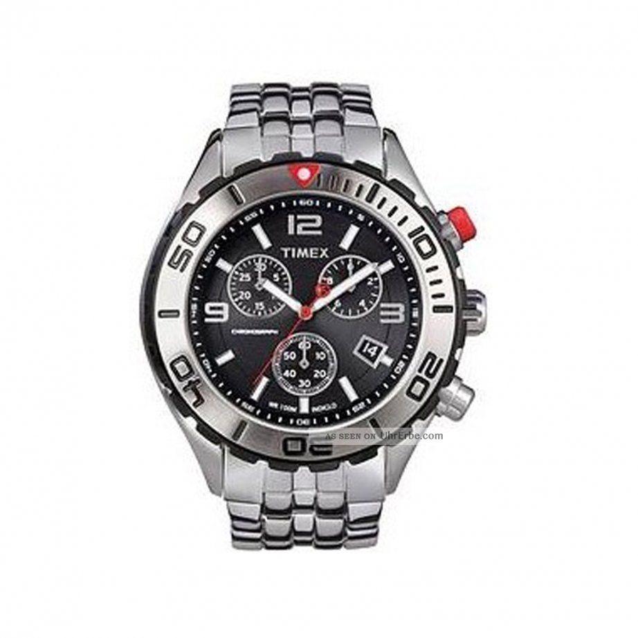 Timex Watches Chronograph Mens Watch T2m759 Armbanduhren Bild