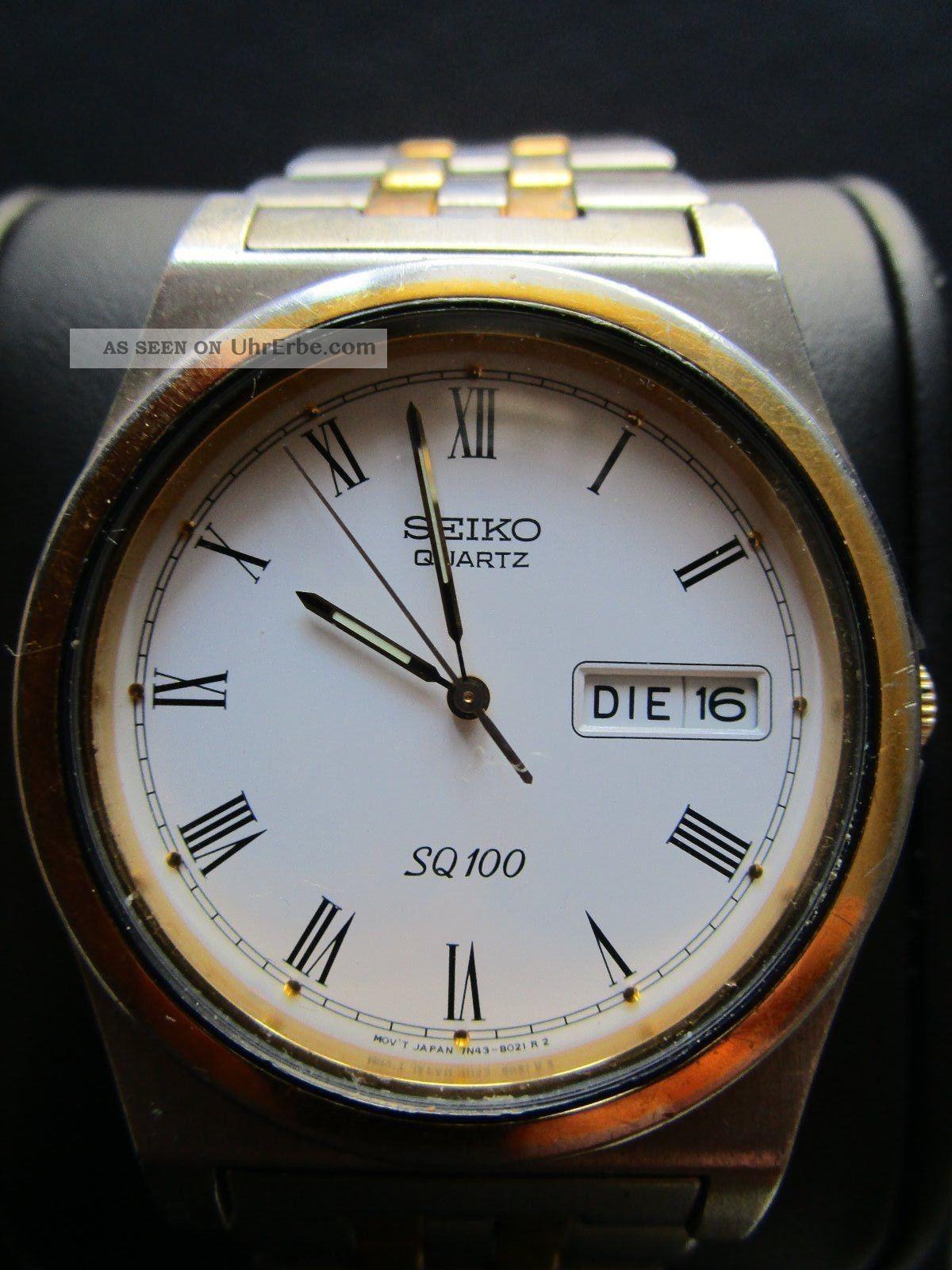 Uhr / Herrenuhr / Damenuhr / Seiko Armbanduhren Bild