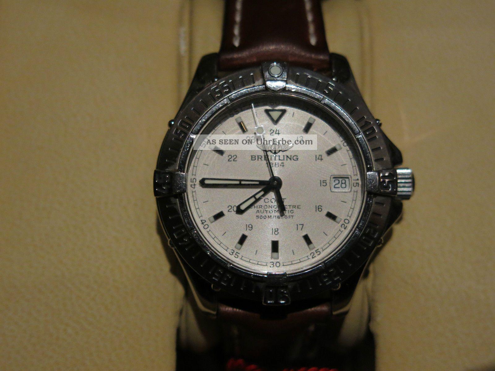 Breitling Colt Chronometer Armbanduhren Bild