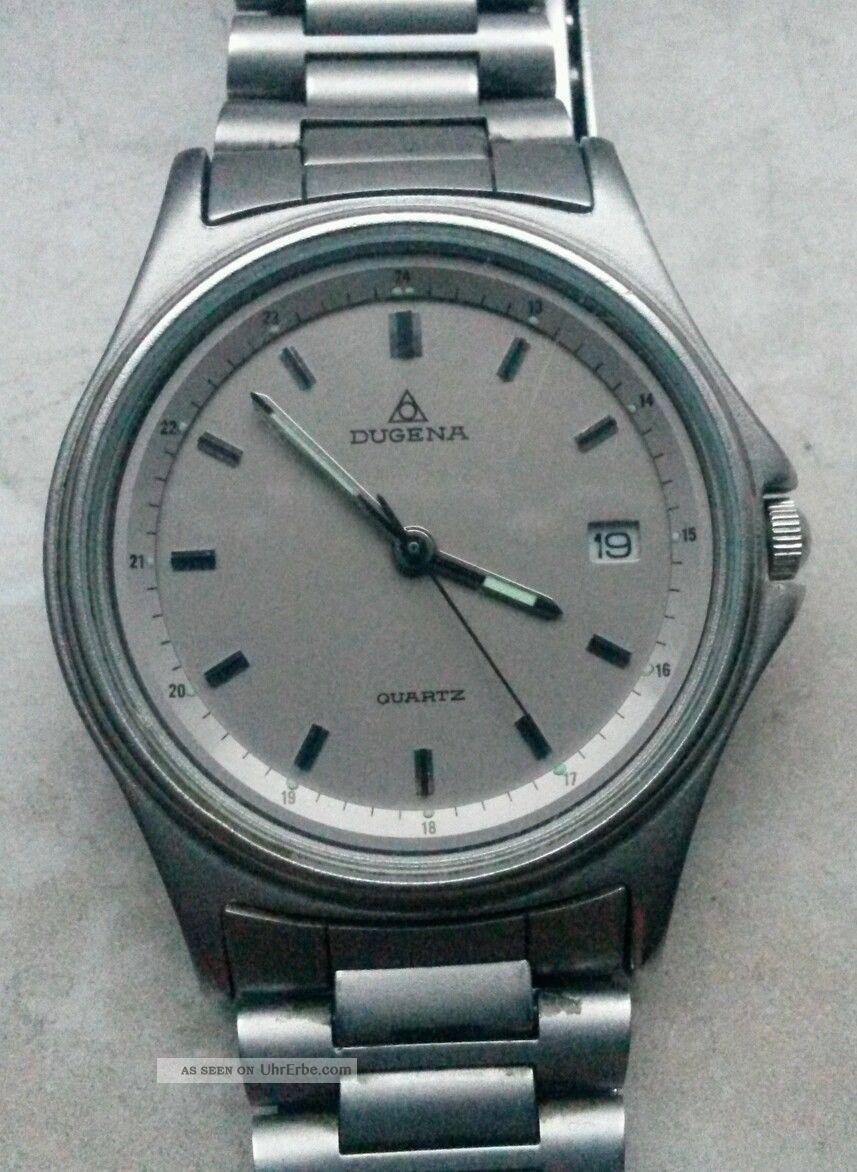 Dugena Armbanduhr In Titanoptik Armbanduhren Bild