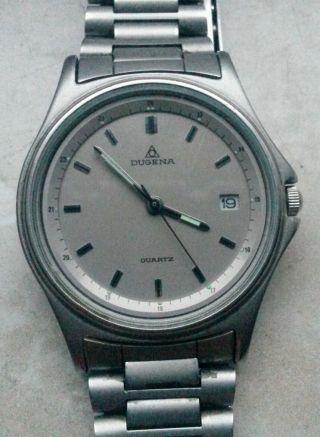 Dugena Armbanduhr In Titanoptik Bild