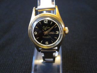 Bifora Uhr Handaufzug Hau Vergoldet 17 Rubis Walzgold Bild