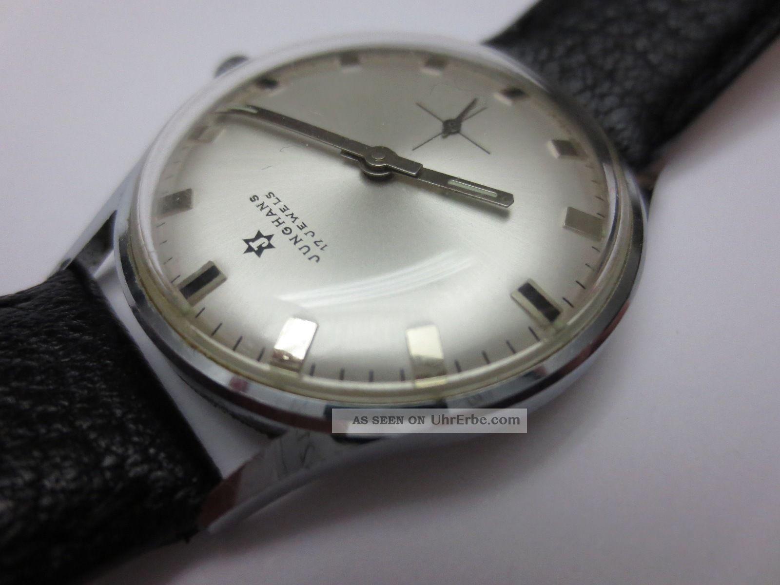 Eleganter Schick Der 60er: Junghans Vintage - Armbanduhr Armbanduhren Bild