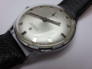 Eleganter Schick Der 60er: Junghans Vintage - Armbanduhr Bild