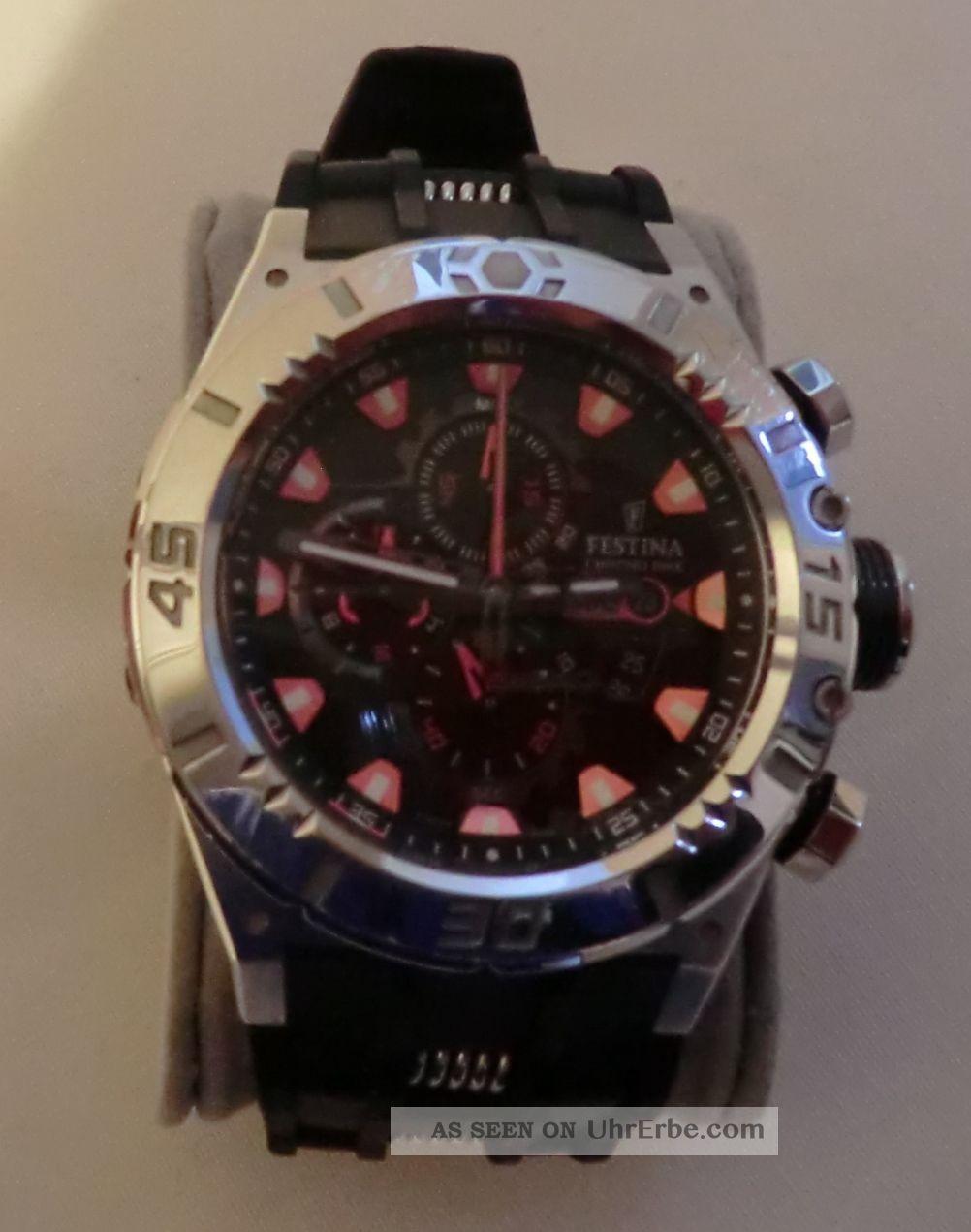 Festina Tourchrono 2010 - Modell F16528/4 Armbanduhren Bild