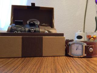 Fossil Uhr Mit 4 Bändern Bild