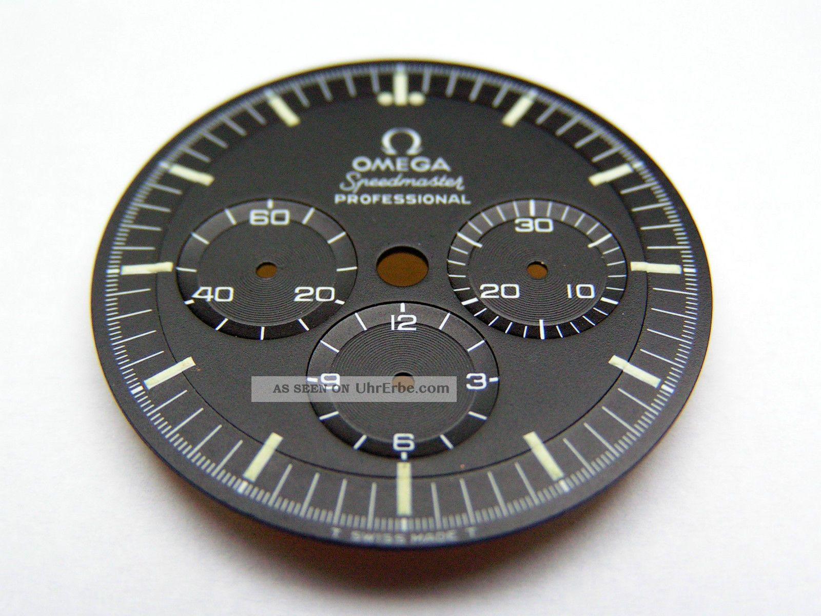 1969 Vintage Omega Speedmaster Professional Pre Moonwatch Step Dial Zifferblatt Armbanduhren Bild
