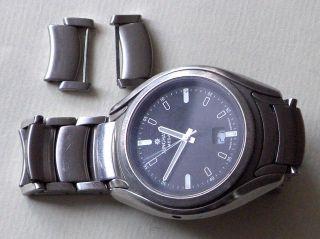 Junghans Mega Herren Armbanduhr 30/4065 Mit Edelstahl - Gliederarmband Bild