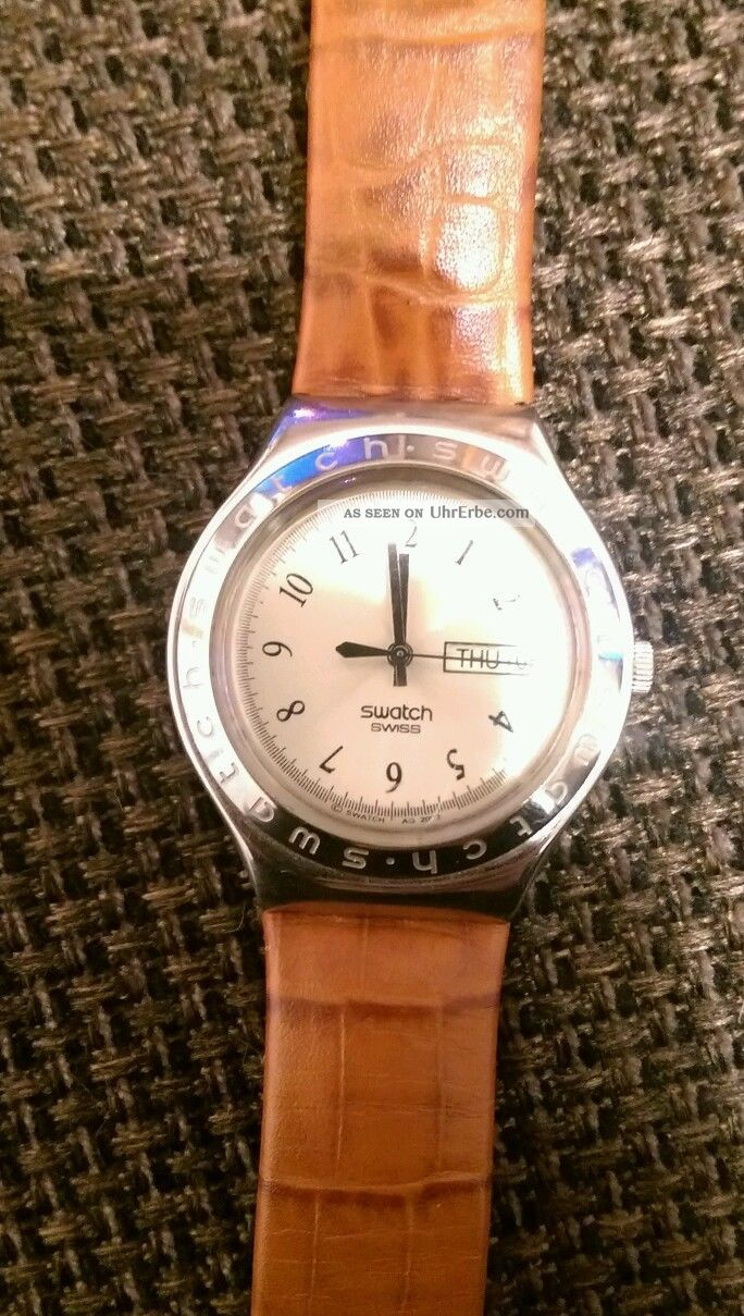 Swatch Irony Stainless Steel Patented Uhr Armbanduhren Bild