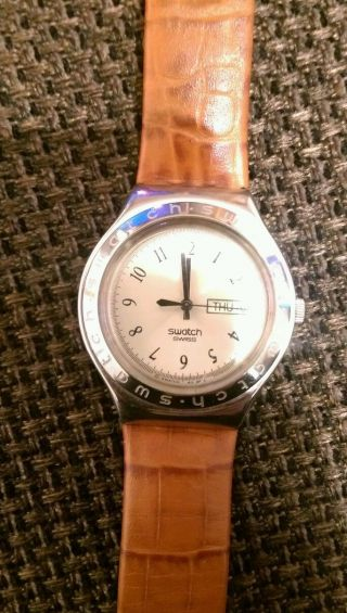 Swatch Irony Stainless Steel Patented Uhr Bild