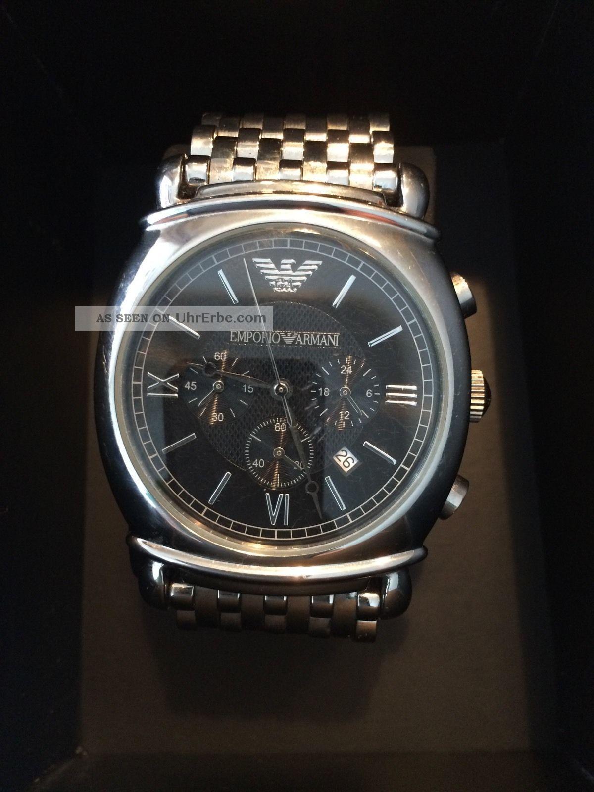 Empori Armani Herrenuhr Ar0314 Armbanduhren Bild