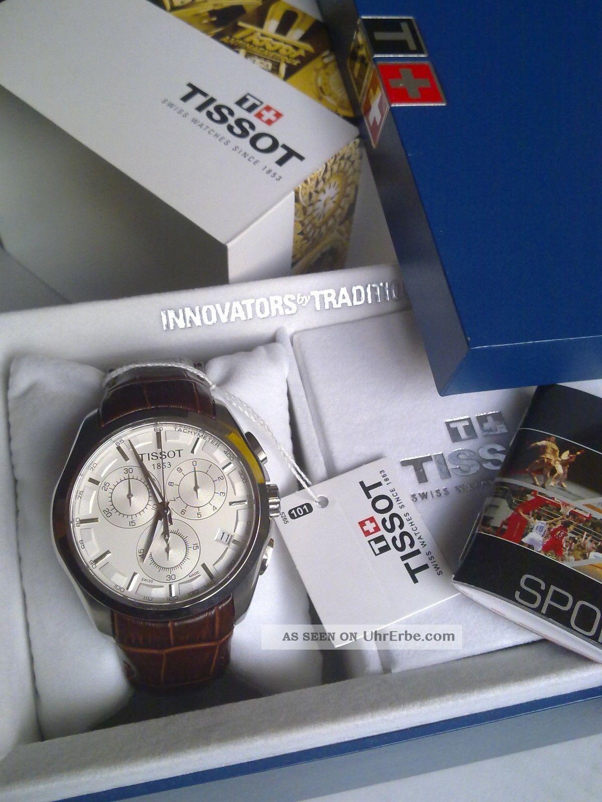 Tissot Couturier Herren T035.  617.  16.  031.  00 Chronograph Tissot Couturier Armbanduhren Bild