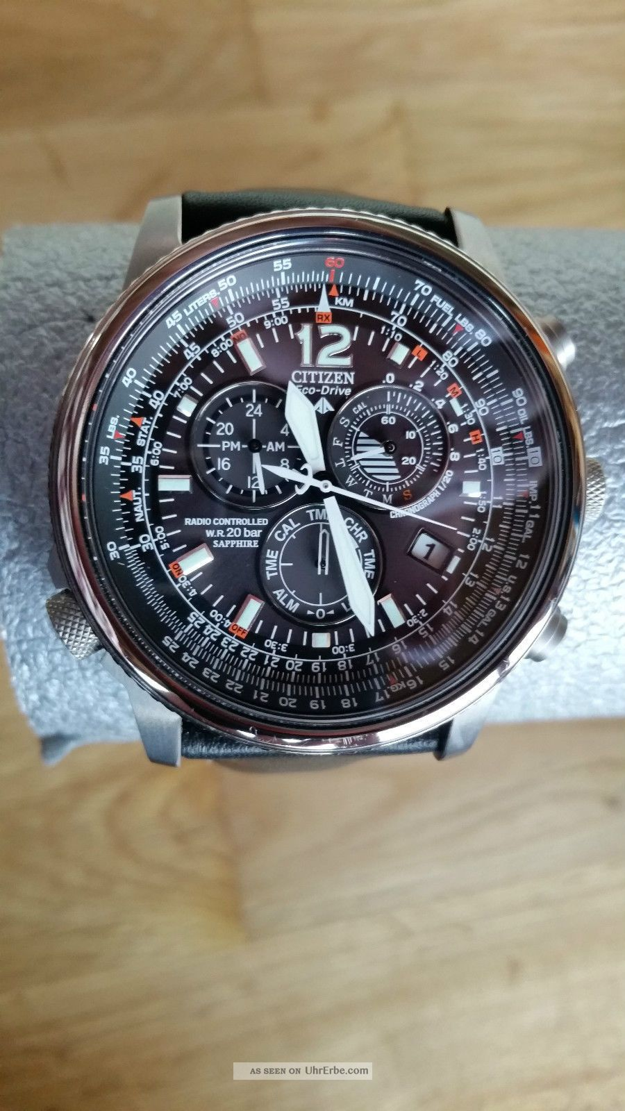 Citizen As4050 - 01e Promaster Chrono Pilot Titanium Neuwertig Armbanduhren Bild
