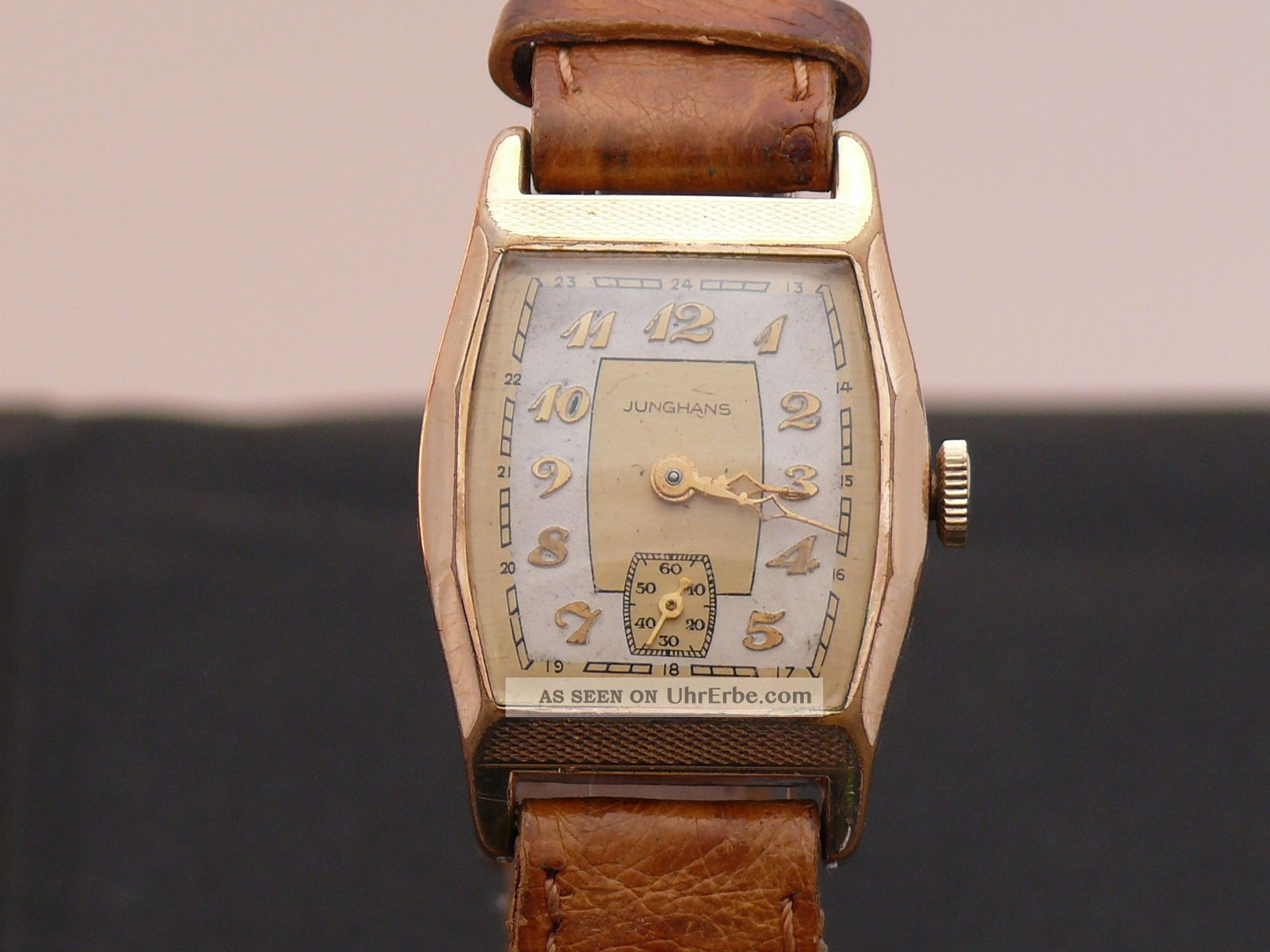 Junghans Armbanduhr 30er Jahre Kaliber 80 Superzustand Armbanduhren Bild