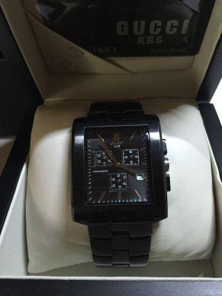 Gucci Herren Uhr Special Edition Mit Karte Bild