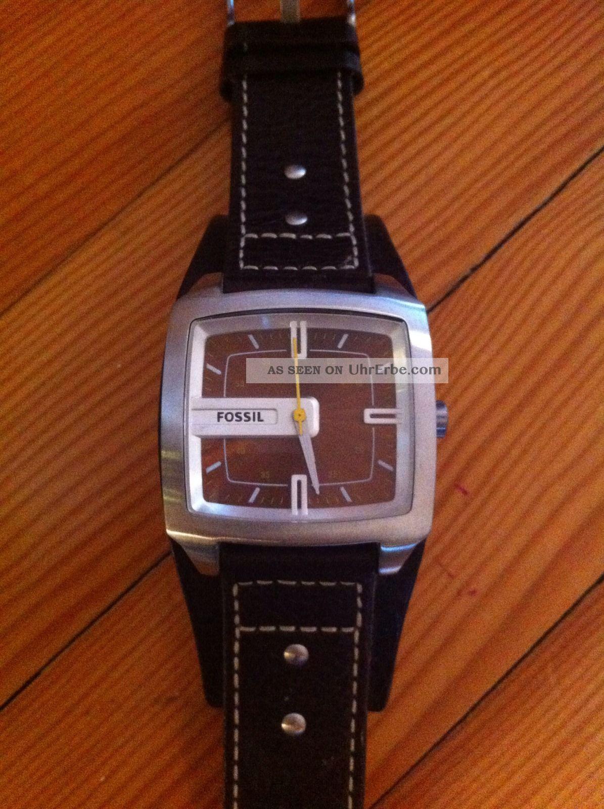 Fossil Herren Armbanduhr Braun Jr 9990 Armbanduhren Bild