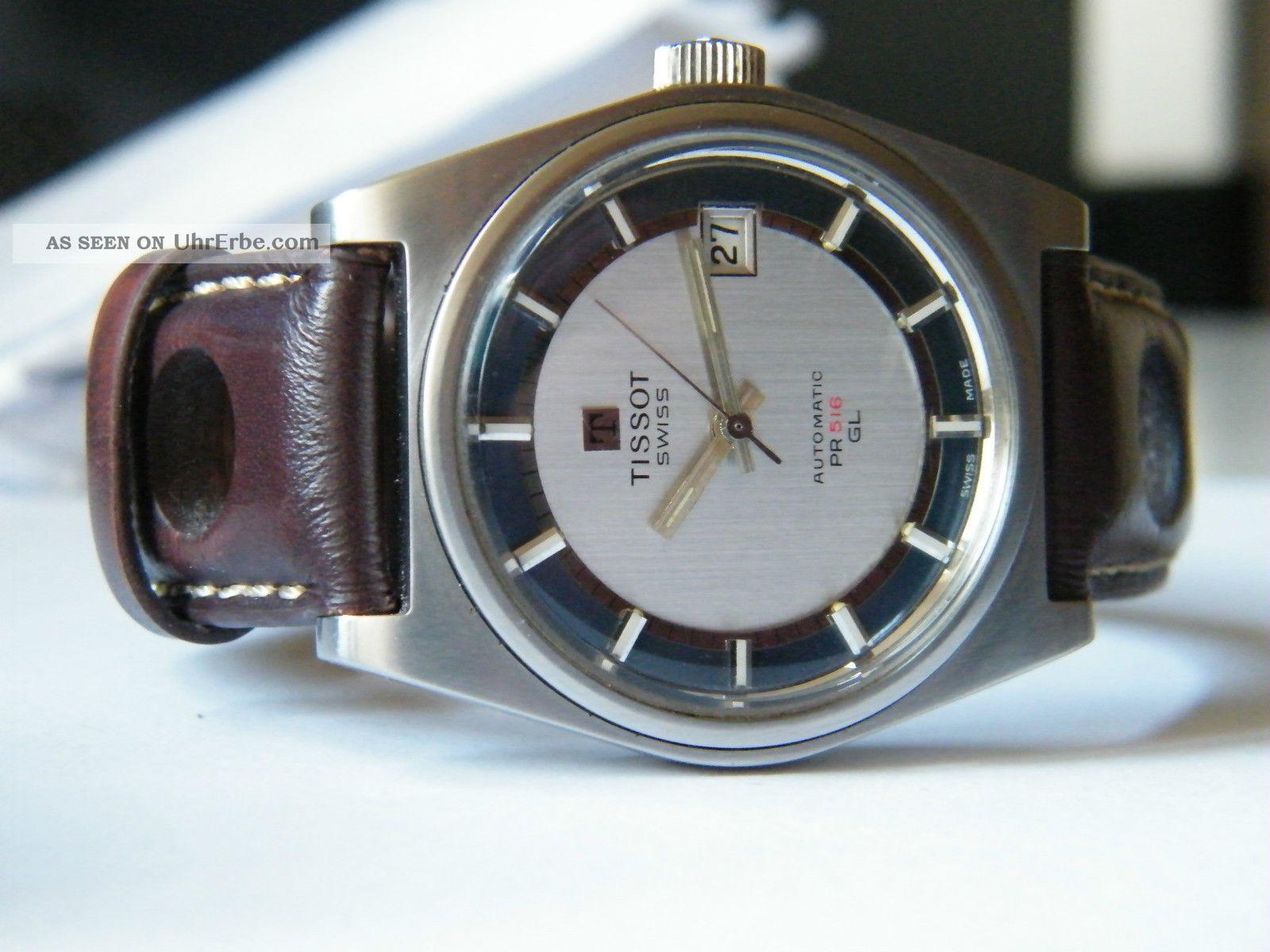Vintage Tissot Automatic Pr 516 Cal.  2481 (omega 1481) Top Armbanduhren Bild